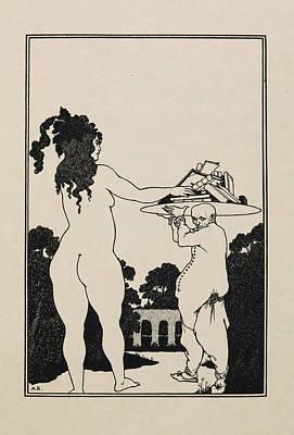 Aubrey Beardsley's Book Plate Poster