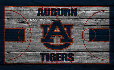 Auburn Tigers Poster by Joe Hamilton