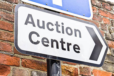 Auction Centre Poster