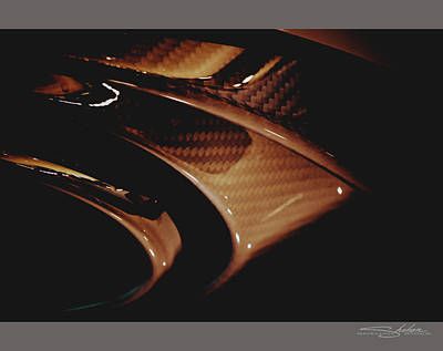 Audi 2014 Rs7 Carbon Fibre Exhaust  Poster