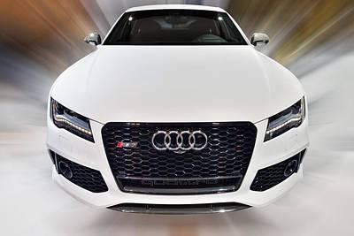 Audi  R S 7 Quattro 2014 Poster