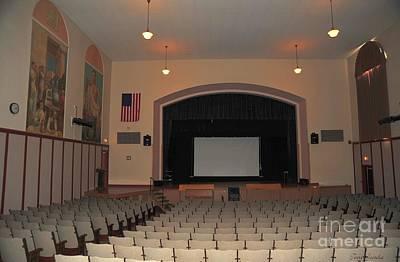 Auditorium In Clare Michigan Poster