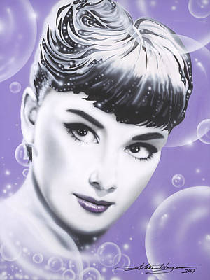 Audrey Hepburn Poster by Alicia Hayes