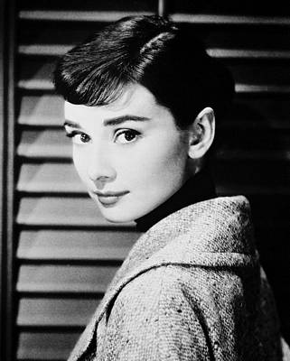 Audrey Hepburn Poster by Silver Screen