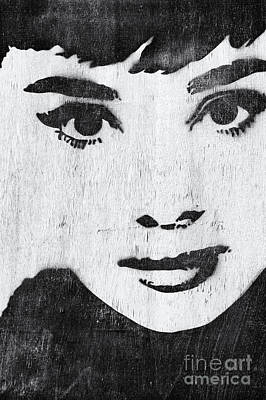 Audrey Hepburn Poster by Tim Gainey