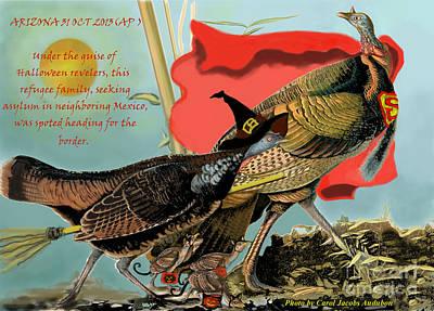 Audubon's Turkey Refugees Poster