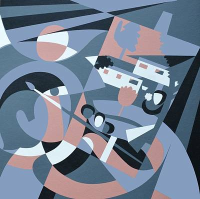 August, 2006 Acrylic On Board Poster
