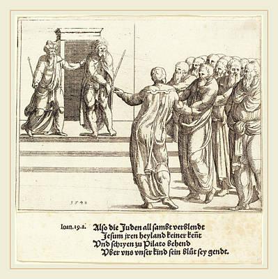 Augustin Hirschvogel German, 1503-1553 Poster by Litz Collection