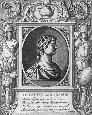 Augustus, Roman Emperor Poster by Science Photo Library