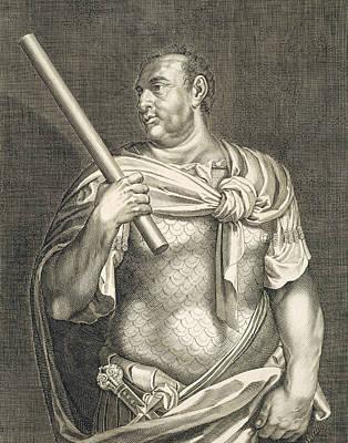 Aullus Vitellius Emperor Of Rome Poster by Titian