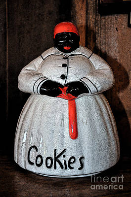 Aunt Jemima Cookie Jar Poster by Paul Mashburn