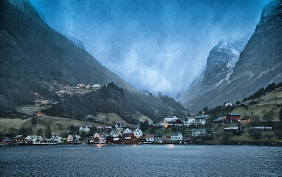 Aurland Poster