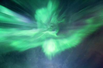 Aurora Borealis Corona Poster by Dr Juerg Alean