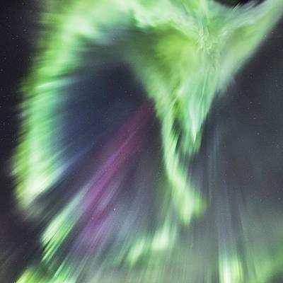 Aurora Corona II Poster by Frank Olsen