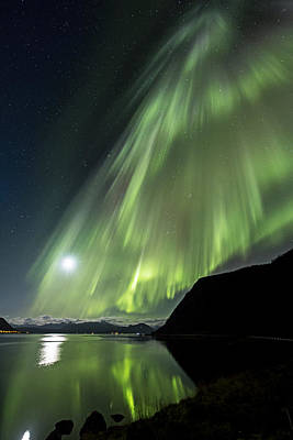 Aurora Flow Poster by Frank Olsen