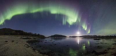 Aurora Panoramic Poster by Frank Olsen
