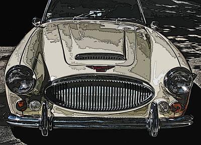 Austin Healey 3000 Mk Ill Poster