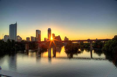 Austin Sunrise Poster