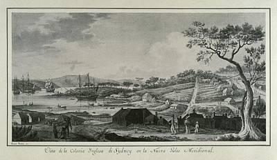 Australia 18th C.. English Colony Poster by Everett