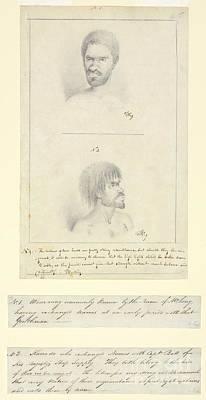 Australian Aborigines, 18th Century Poster
