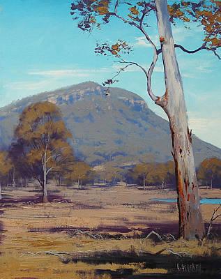 Australian Summer Landscape Poster by Graham Gercken