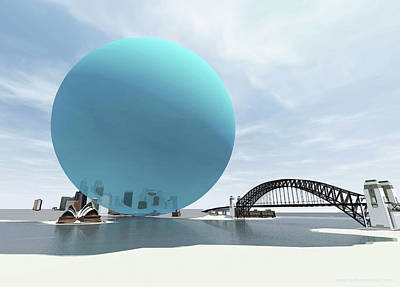 Australia's Daily Co2 Emission Poster by Adam Nieman