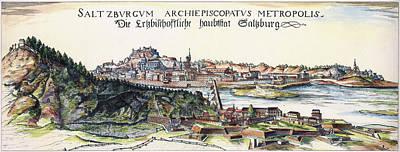 Austria Salzburg, 1643 Poster by Granger