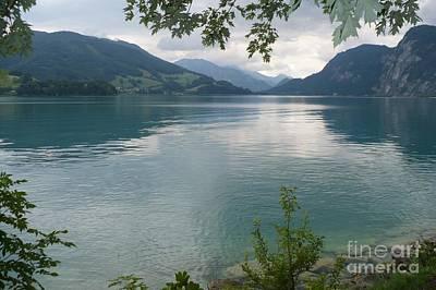 Austrian Lake Poster by Carol Groenen