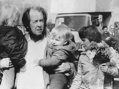 Author Alexander Solzhenitsyn Poster