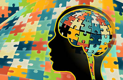 Autism, Genetics Research Poster by Science Source