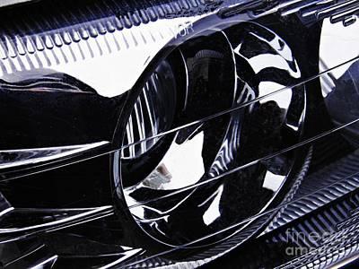 Auto Headlight 155 Poster by Sarah Loft