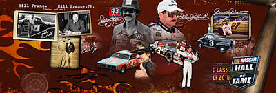 Auto Racing Hall Of Fame First Class Poster by Retro Images Archive