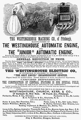 Automatic Engine, 1886 Poster