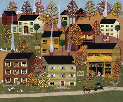 Autumn Afternoon Poster by Medana Gabbard