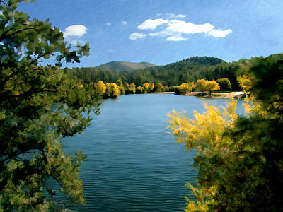Autumn At Lynx Lake Poster