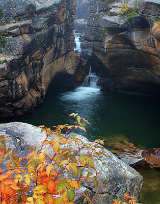 Autumn At The Grotto Poster