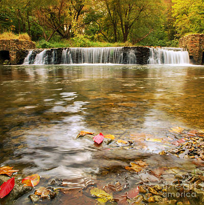 Autumn At Valley Creek Poster