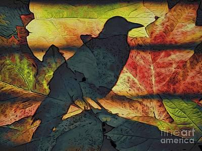 Autumn Bird Poster