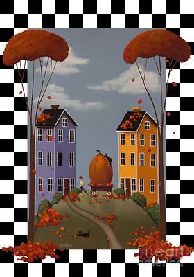 Autumn Blaze Poster by Catherine Holman