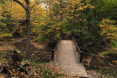 Autumn Bridges. Poster