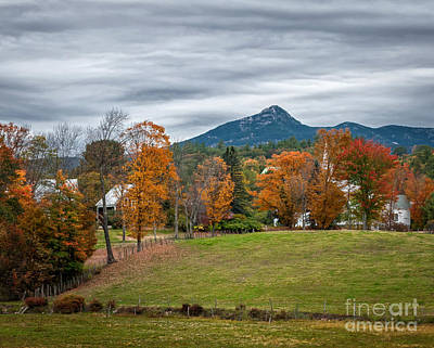 Autumn Chocorua Poster