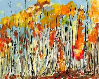 Autumn Colours Poster by David Dossett