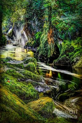 Autumn Creek Poster by Adrian Evans