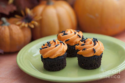 Autumn Cupcakes Poster by Juli Scalzi