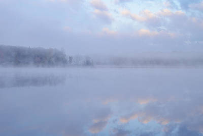 Autumn Deep Lake Poster by Dean Pennala
