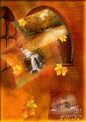 Autumn Dream Poster by Giada Rossi