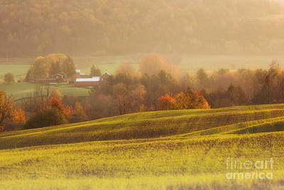 Autumn Fields Poster