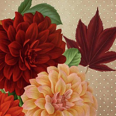 Autumn Flare Square 2 Poster