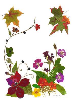Autumn Garden Poster by Kathie McCurdy