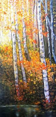 Autumn Glow Poster by Patti Gordon